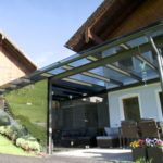 Glasüberdachung – Wohnhaus im Tennengau