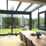 Integrierter Wintergarten – Wohnhaus im Flachgau