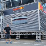 Red Bull Energystation in Silverstone