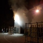 Feuerwehrübung der FF Ebenau in der Glaserei