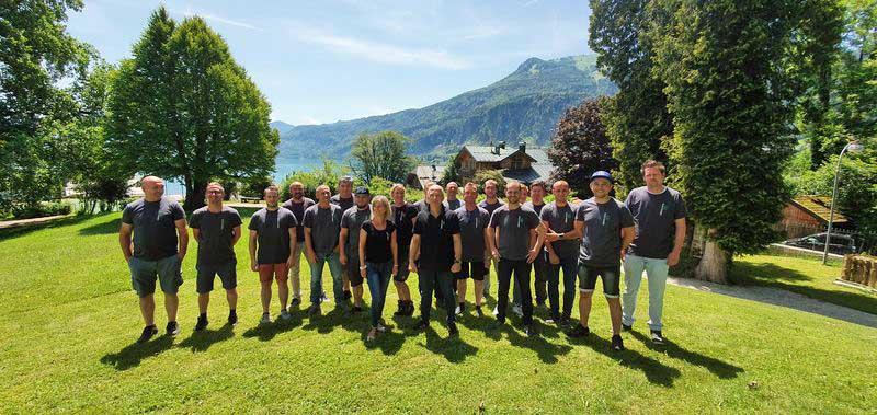 Glas&Rahmen Seminar im Hotel Billroth in St. Gilgen, Juli 2020